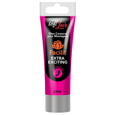 Gel Excitante e Lubrificante Anal Facilit Extra Exciting 15ml