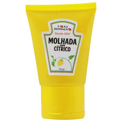 Gel Comestível Molhada Sabor Cítrico 15ml