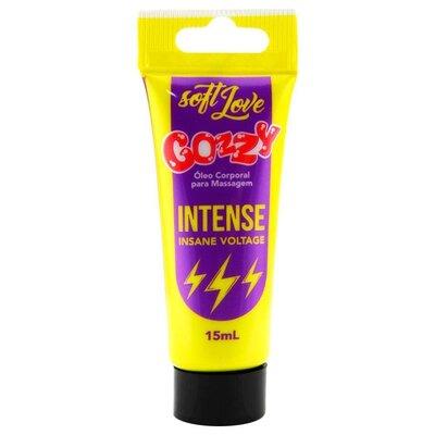 Bisnaga Gozzy Intense Excitante Feminino - Insane Voltage 15 mL