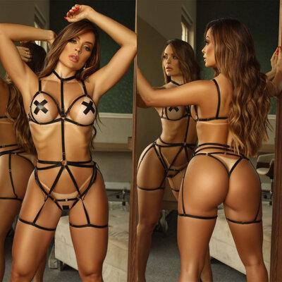 Body Sensual Tiras Sado