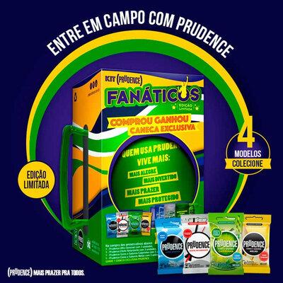 Kit Prudence Fanáticos - Edição Limitada!
