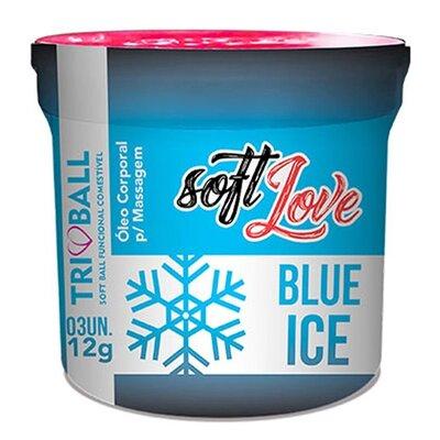 Bolinha Funcional Excitante Unissex Blue Ice com 3 Unidades