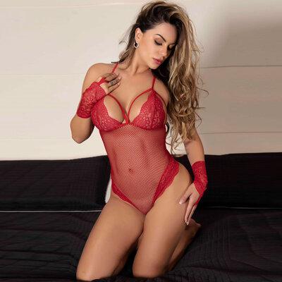 Body Sensual Rendado - Natália