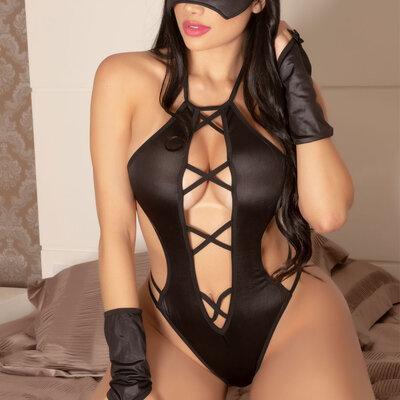 Body Sensual Mulher Aranha