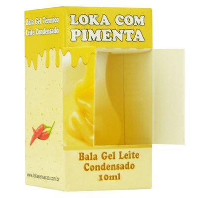 Gel Comestível Bala Loka c/ Pimenta Efervescente 10 ml