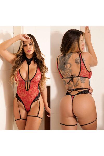 Body Sensual em Renda - Soraya