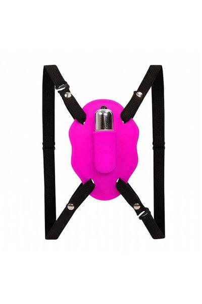 Cinta Estimuladora de Clitóris com Vibrador 11X6,5 cm