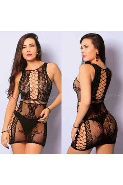 Mini Vestido Border