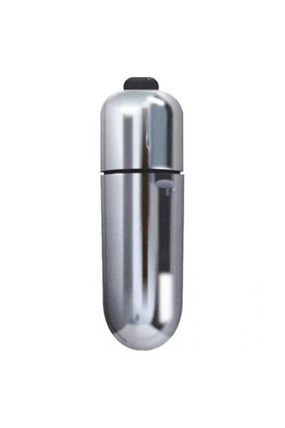 Cápsula Power Bullet 10 vibrações YouVibe Prateado 6 cm x 1,8 cm