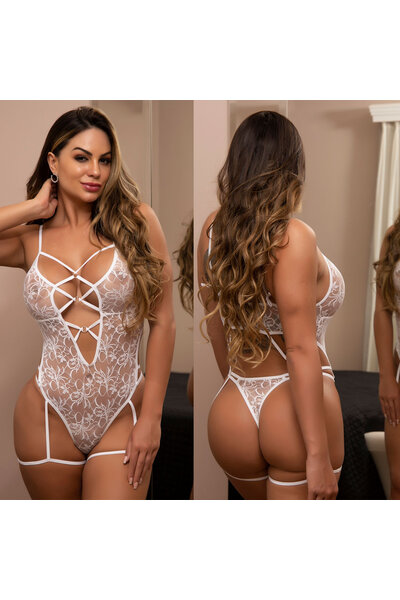 Body Rendado Sensual - Nicolette