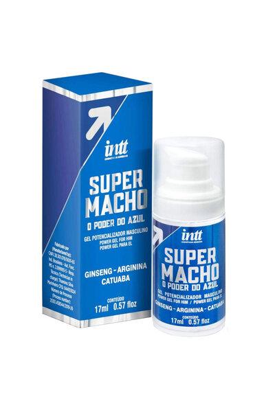 Gel Excitante Masculino Super Macho 17ml