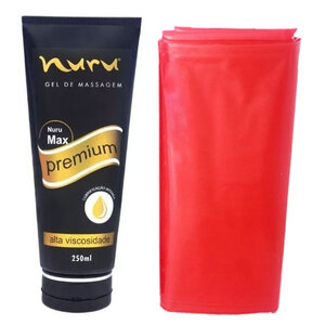 Gel de Massagem Corporal Nuru Max Premium 250ml