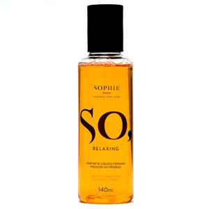 Sabonete Líquido So, Relaxing Frescor do Pêssego 140 ml - Sophie Sensual Feelings