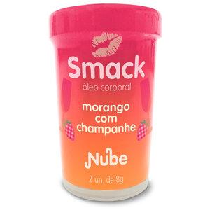 Bolinha Beijável Smack Morango com Champagne com 2 Unidades
