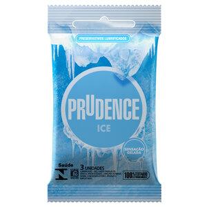 Preservativo Prudence Ice Sensação Gelada