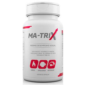 Suplemento Vitamínico e Mineral Masculino Ma-Trix - Máximo Desempenho Sexual