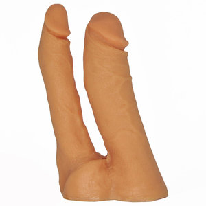 Pênis Duplo Flexível 18 cm x 2,5 cm