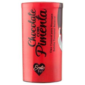 Bolinha Funcional Beijável Chocolate com Pimenta Hot - 2 Unidades