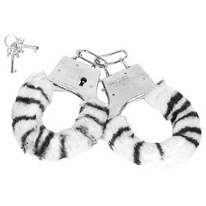 Algema Regulável com Chaves e Pelúcia Zebra