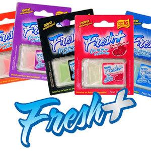 Lâminas Refrescantes Fresh + com 16 Unidades
