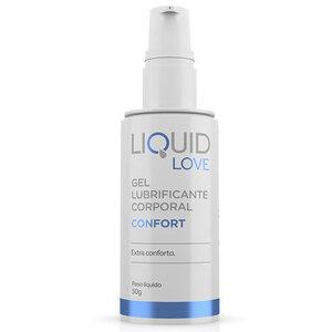 Gel para Sexo Anal com Extra Conforto Liquid Love Conforte Oferece Sensação Deslizante 50g