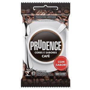 Preservativo Prudence Cores e Sabores Café