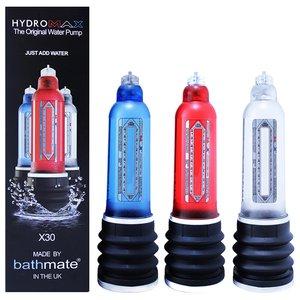 Bomba Peniana Manual para Uso no Chuveiro Bathmate Hydromax X30