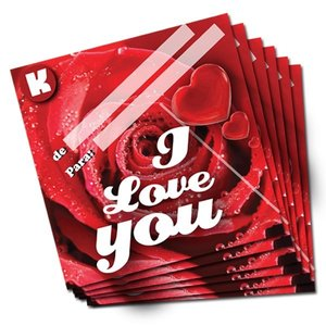 Cartão Romântico - I Love You