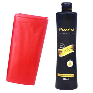 Gel de Massagem Corporal Nuru Premium 500ml