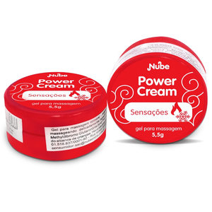 Pomada Excitante Unissex Power Cream Sensações 5,5g