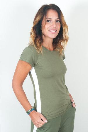 Blusa Básica com Faixa Lateral