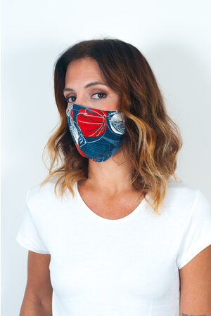 Máscara Anatômica com Dupla Camada