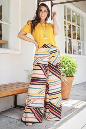 Calça Pantalona Caroline