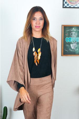 Kimono Liso Suede