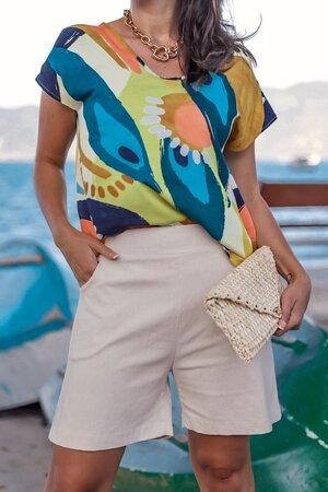 Blusa Capri em Viscose