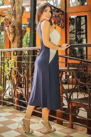 Vestido Regata Bicolor