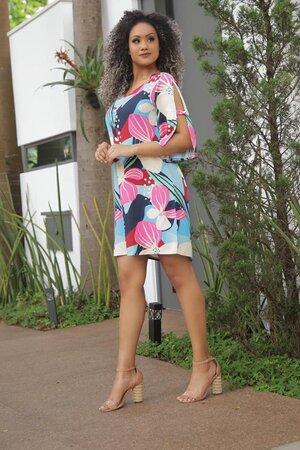 Vestido Kari Viscose Estampado
