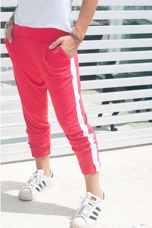 Calça Jogging com Faixa Lateral