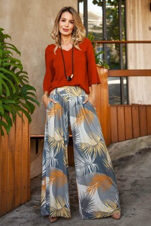 Pantalona + Blusa Ravenna