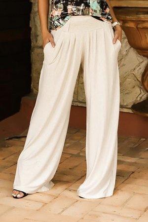 Calça Pantalona Lisa
