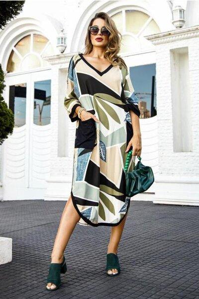 Vestido Vittoria Estampado