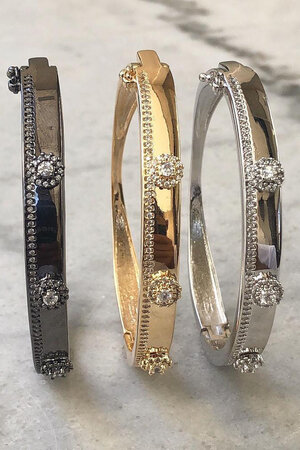 Bracelete Nice Rodio semijoias
