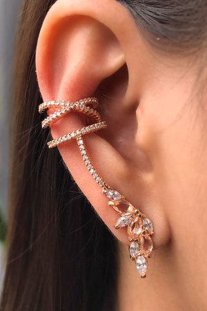 Brinco earcuff Louise Rose