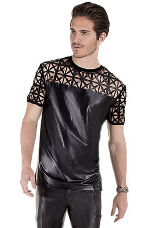 T Shirt Leather Laser