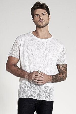 T-Shirt Long Open