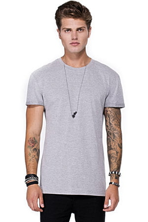 T Shirt Wings Silver
