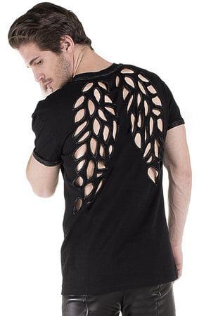 T Shirt Wings Bordada