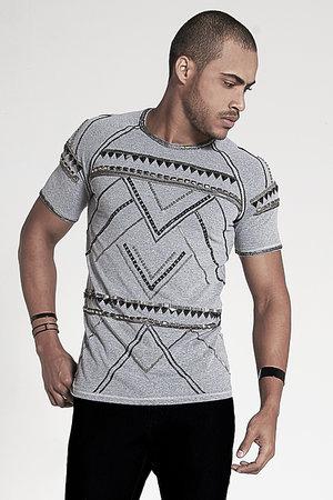 T-Shirt Silver Bordada