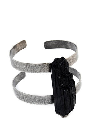 Bracelete Turmalina Negra