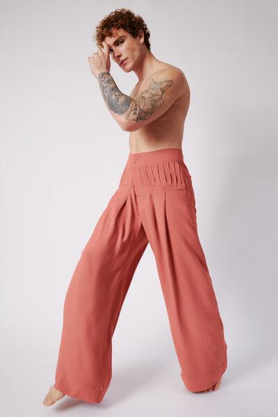 Pantalona Goiaba com Pala Pregueada